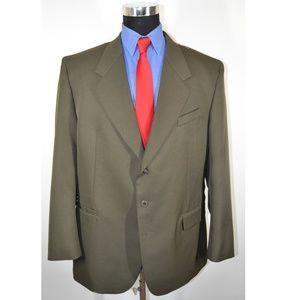 Luighi Balini 46R Sport Coat Blazer Suit Jacket Da